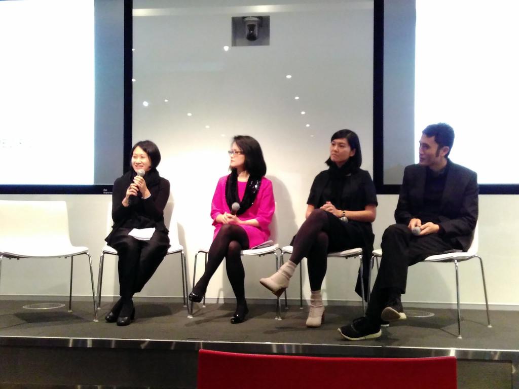 Sarah Kwok Yan Lee, Ingrid Chu, Bettz Ng and Yutaka Yano